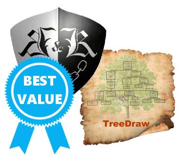 Kith and Kin Pro plus TreeDraw bundle